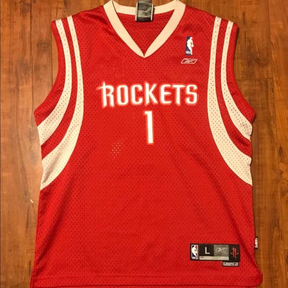 promo code 28fc2 a9f32 T-Mac Rockets Jersey